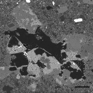 EPMA elemental mapping of murdock thin sections was used to determine textures important for TCE retention.